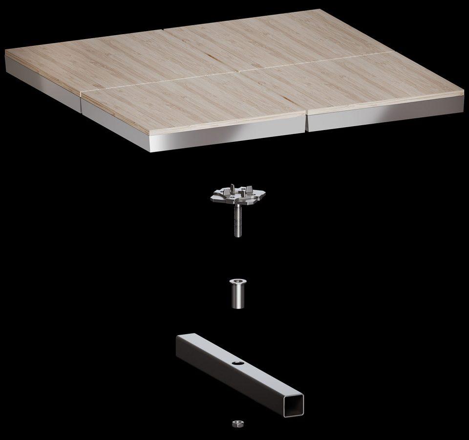 access flooring system 01